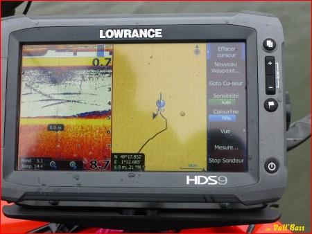 Le sondeur Lowrance HDS9 Touch...