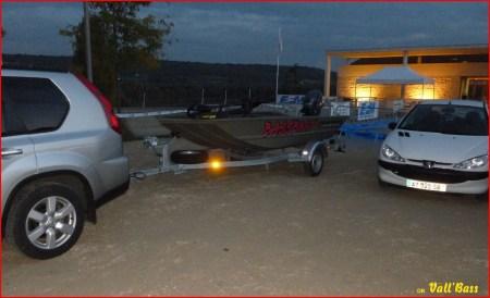 Arrivée à la base du Lac des boucles de Seine...