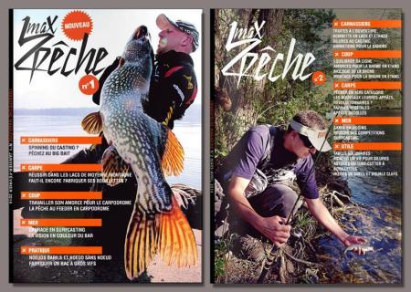 1Max2Peche Magazine N°1 et 2 en téléchargement gratuit..